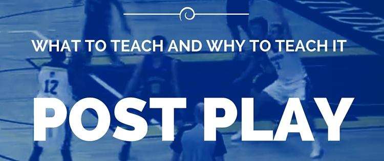 Basketball Post Play