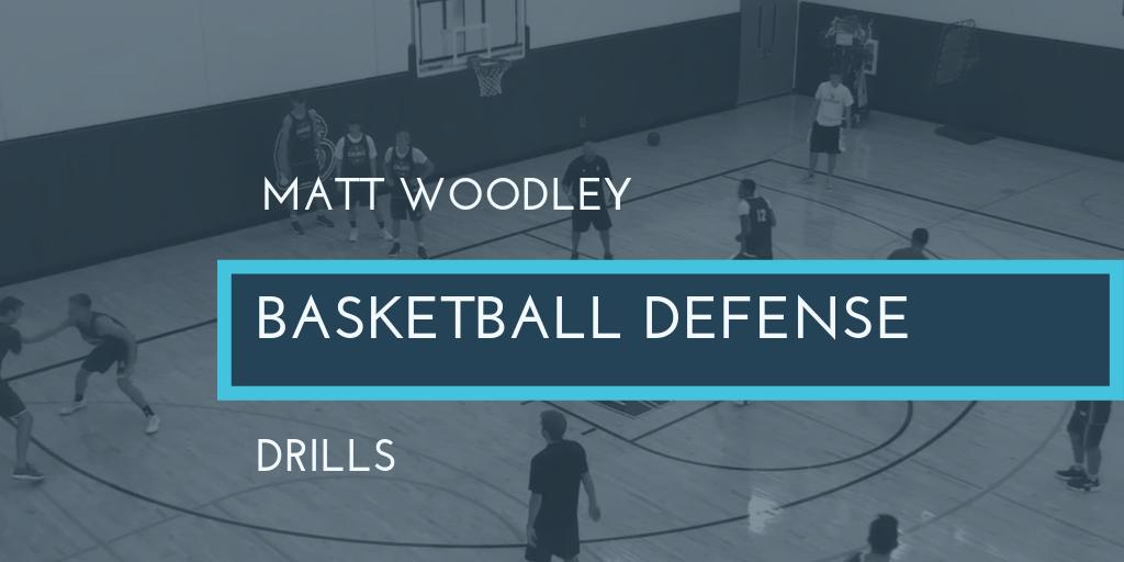 Matt Woodley Basketball Defense