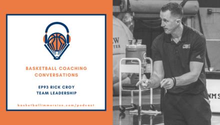 Coach Rick Croy