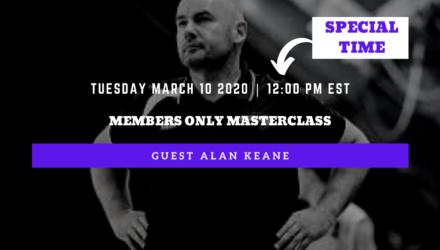 Alan Keane Masterclass