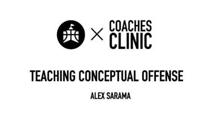 Alex Sarama Conceptual Offense