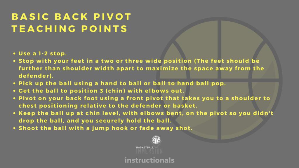 Back Pivot